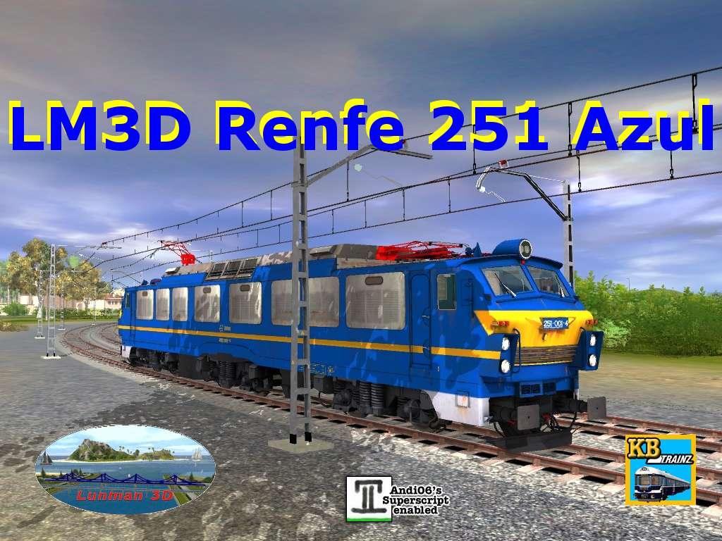 web.lunman3d.es/downloads/images/rodante/electrico/lm3d_renfe_251_azul.jpg
